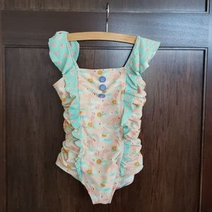 Matilda Jane slip and slide swimsuit sz 6